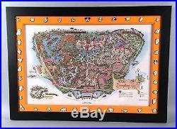 1958 Disneyland Pin Set Map Version C Reproduction LE 1000 Full Set of Pins