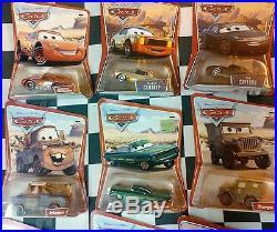 2006 Disney Pixar Cars Movie Disney Theme Park 155 Diecast lot 12 +Car carrier