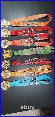2016 Run Disney Walt Disney World Marathon Medals