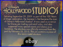 2016 Walt Disney World Piece of History Pin Sorcerer's Hat Hollywood Studios
