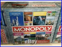 2020 Disney Parks Theme Park Edition Monopoly Game Pop-Up Castle 10% Donated BLM
