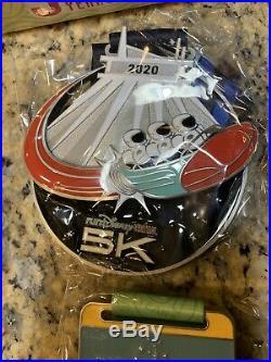 2020 Run Disney Virtual Challenge Medals set of 4