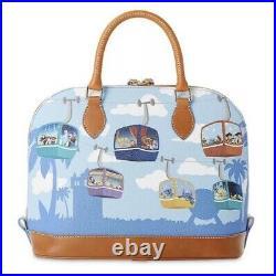 2021 Disney Parks Dooney & Bourke Skyliner Themed Satchel Purse Side Bag NEW