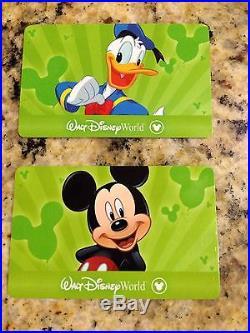 2 Walt Disney World Tickets One Day One Theme Park