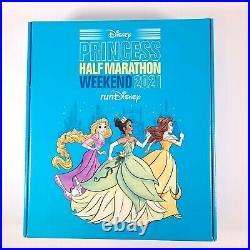 4 Disney Princess Half Marathon 2021 Medals X4. 5K, 10K, Half Marathon, & FTC