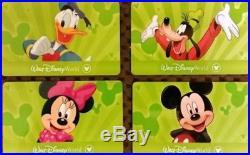 (4) Walt Disney Theme Parks U. S & Int 1-day Park Hopper Passes Exp 06/19