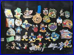 500 + Disney Pin Lot Limited Editions Cast Member Rare HTF Pin Bags