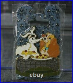 A4 Disney WDI LE Pin Nightmare Before Christmas Classics Zero LADY & the Tramp