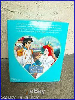 Ariel & Prince Eric Wedding Theme Park Little Mermaid Disney Doll
