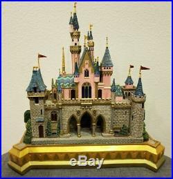 Art of Disney Theme Parks Sleeping Beauty Castle Sculpture Larry Nikolai Statue