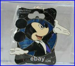 B2 Disney WDI LE 300 Pin Mickey Through the Years Profile House of Mouse Tuxedo
