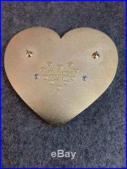 Belle Jumbo Heart 3D Fantasy Pin LE /75 Disney HTF Rare Beauty and the Beast POP