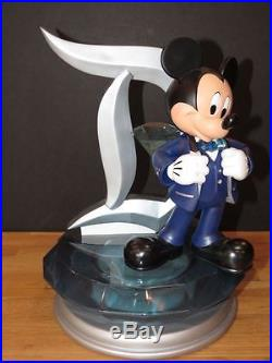 Big Figure ART OF DISNEY THEME PARKS 60TH ANNIV. MICKEY SCULPTURE LE60 Limited