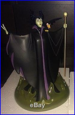 Brand New Disney Theme Park Maleficent Medium Big Fig Glow-in-the-Dark
