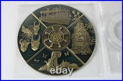 C2 Disney Disneyland Club 33 Coin FULL SET Tiki Takeover Adventureland Mara