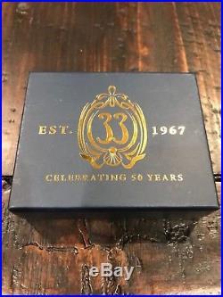 CLUB 33 Disney 50th ANNIVERSARY CELEBRATION PIN MICKEY MINNIE 1967 2017 LE 500