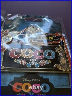 COCO Marquee Pin LE400 El Capitan Dante Ernesto Hector Pixar DSSH DSF