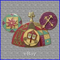 Celebrating Fifty Years Jumbo Pin A Small World Mickey Ear Hat Disney LE 750