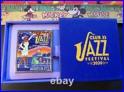 Club 33 2020 Jazz Festival Tiana Princess and the Frog LE300 Pin Disneyland