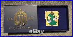 Club 33 Disneyland LE 50th Anniversary Pin for November, Donald & Daisy