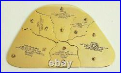 Collector Pin Set of 6 Historic Map of Disneyland from 45th Anniversary LE 1,955
