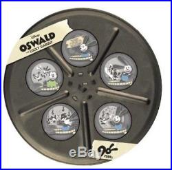 D23 Disney Oswald the Lucky Rabbit 90 Years Boxed Pin Set of 5 LE 750 Pre Sale