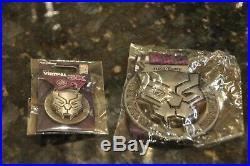 D23 Expo 2019 Run Disney Virtual 5k Marvel 80 Years Black Panther Medal & Pin