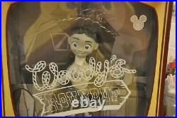 D23 Expo 2019 Sepia Toy Story Woody's Round Up Jessie Yodeling Cowgirl Le 500