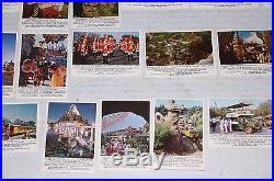 DISNEYLAND 1965 Donruss Card Set Walt Disney Theme Park ORIGINAL OWNER