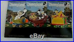 DISNEY- Disneyland AP 2019 Walt's Railroad Train #1 6 Pins (Set of 6) LE
