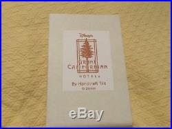 DISNEY GRAND CALIFORNIAN HOTEL pottery TILE Redwood Tree Icon Arts & Crafts USA
