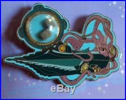 DISNEY PIN PIECE OF DISNEY HISTORY 20,000 Leagues Under The Sea 2005 Nautilus