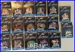 DISNEY PIN PIECE OF DISNEY Spectro Magic complete 2 years of pins Nice