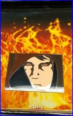 DISNEY STAR WARS WEEKENDS 2005 ANAKIN'S TRANSFORMATION PIN SET DARTH VADER w COA