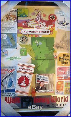 DISNEY- WDW Florida Project Framed Set 6- Collage PINS