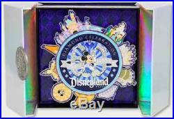 DLR Diamond Celebration Event 60th Super Jumbo Mickey Mouse Pin