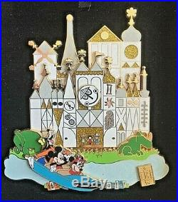 DLR E-Ticket Collection It's a Small World Jumbo Disney Pin LE 500