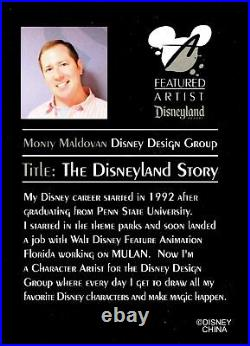 DLR Featured Artist Collection 2005 The Disneyland Storybook Jumbo Pin
