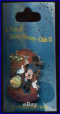 DLR Piece of Disney History Club 33 LE 1000 Disney Pin 107832