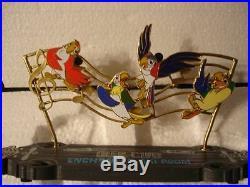 DLR Walt Disney's Enchanted Tiki Room 50th Glee Club Boxed Pin & Resin Sculpture