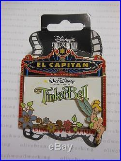 DSF 2008 Disney Soda Fountain TINKER BELL El Capitan Theater Marquee Pin RARE