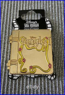 DSF DSSH Disney Tangled Gold Storybook Pin LE 400 Rapunzel New