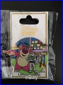 DSF Disney Pixar TOY STORY 3 BELOVED TALES Pin Buzz Lightyear Woody Lotso LE 300