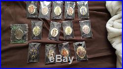 Disney 13 Reflection of Evil Countdown Cracked Mirror Set Complete Pins