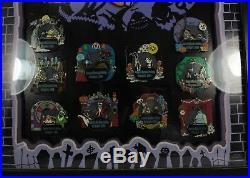 Disney 2004 DLR Nightmare Before Christmas Doom Buddies LE 500 Framed Set Pin