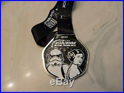 Disney 2020 star wars run 5 medal set 5k, 10k, 13.1k, 19.3k and Kessel Run Medals