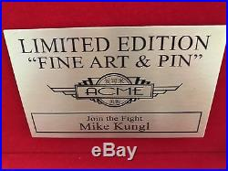 Disney/ACME Star Wars X-Wing Join The Fight Collectible Pin And Print LE 23/100