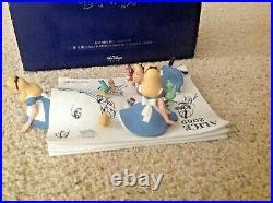 Disney ALICE IN WONDERLAND Model Sheets Figural Scene Figurine LE1063 /3000 COA