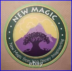 Disney AUTHENTIC Park Sign RARE Disneyana Disneyland Animal Kingdom WDW