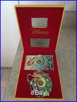 Disney Acme Ariel Jumbo Pin LE 100 Little Mermaid Pin
